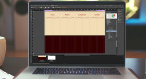 Screenshot Adobe® Muse